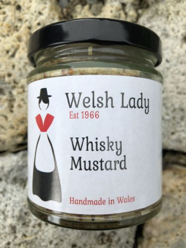 Welsh Lady Whisky Mustard